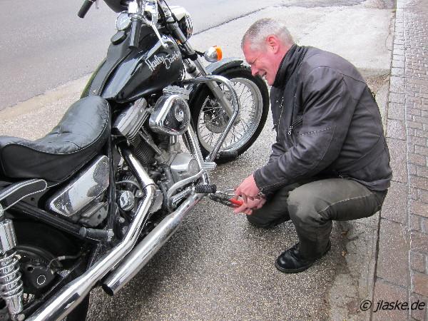 Motorradtour Dolomiten